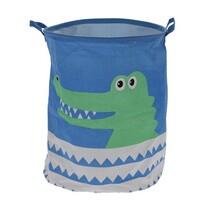 Coșuleț decorativ Hatu Crocodil, diam. 40 cm