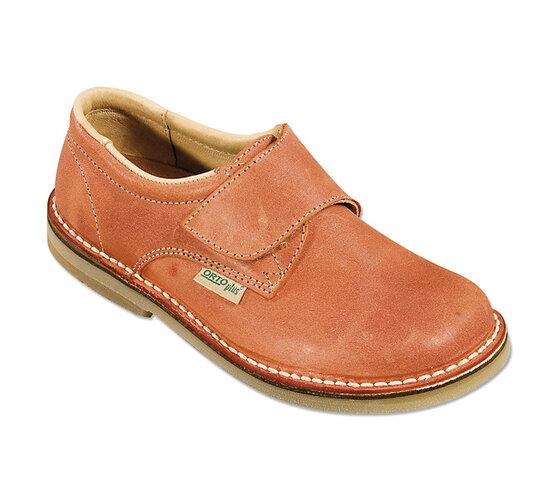 Orto Plus Dámska obuv vychádzková na suchý zips  veľ. 39 oranžová