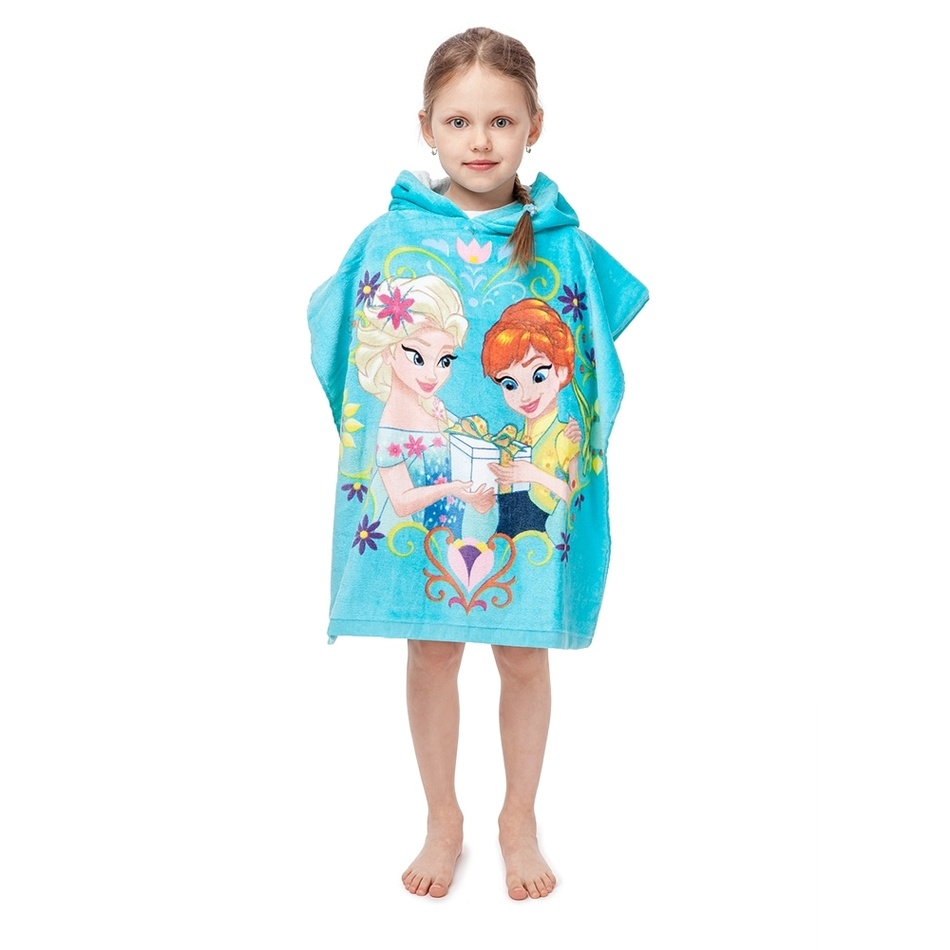 Jerry Fabrics Dětské pončo Ledové Království Frozen, 60 x 120 cm