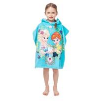 Jégvarázs Frozen gyerek poncsó, 60 x 120 cm
