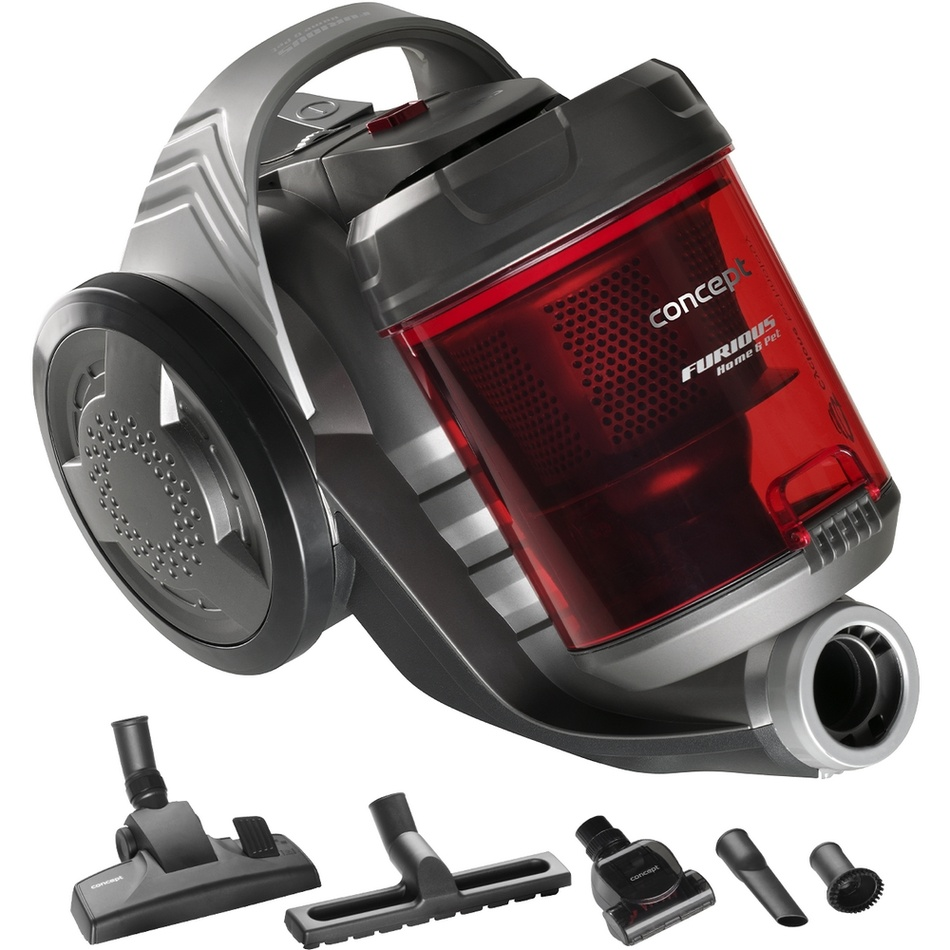 Concept VP5150 bezvreckový vysávač FURIOUS Home & Pet 800 W