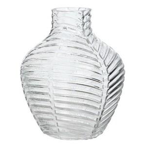 Skleněná váza Crystal čirá, 20 cm