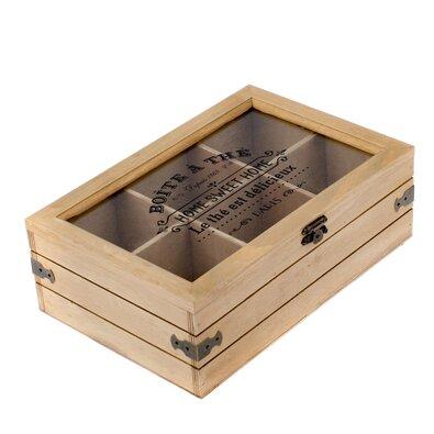 Pojemnik na woreczki herbaty, 24 x 8 x 16 cm