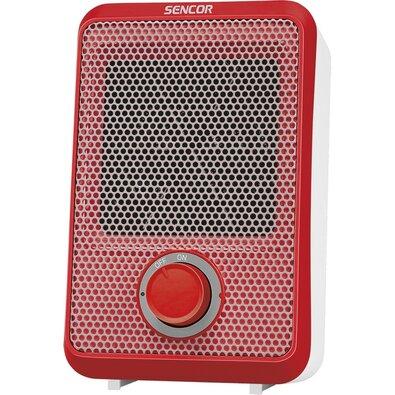 Sencor SFH 6011RD tepelný ventilátor, červená