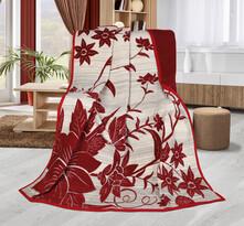 Koc Karmela plus Czerwona łąka, 150 x 200 cm