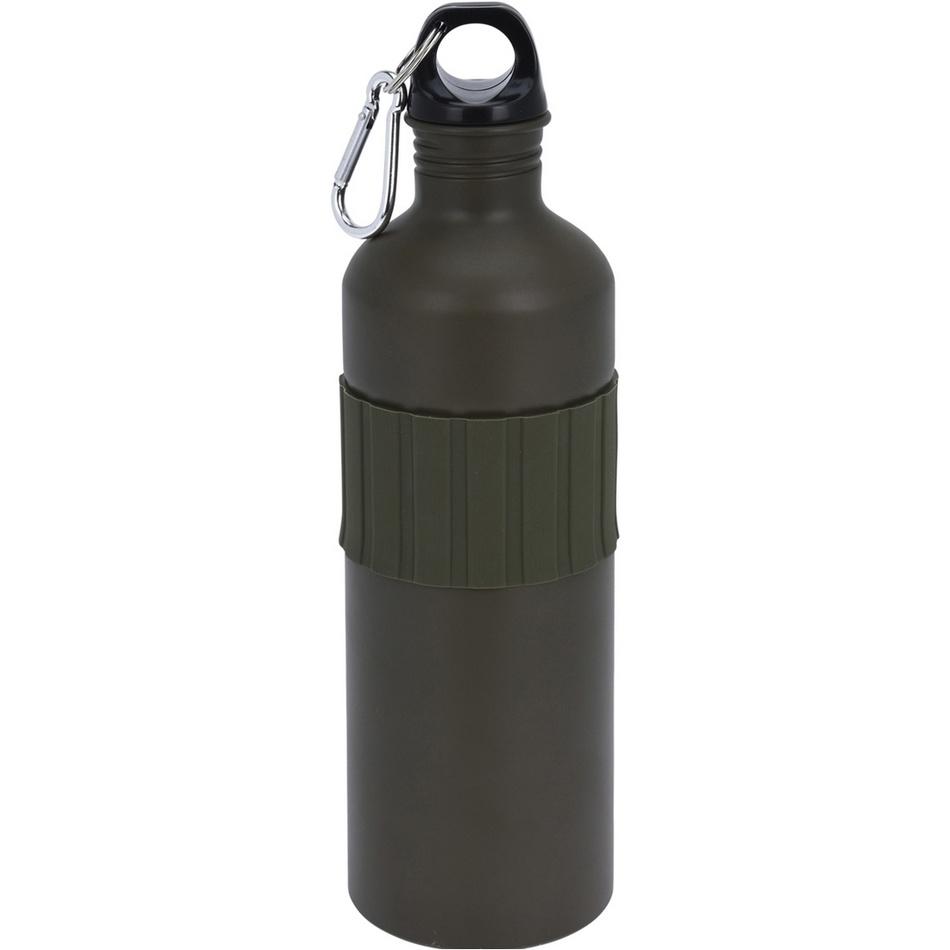 Koopman Sportovní hliníková láhev s uzávěrem 750 ml, army