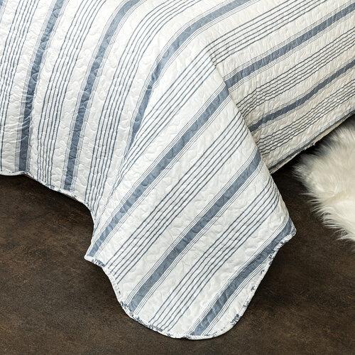 4Home Přehoz na postel Blue Patrones, 220 x 240 cm, 2 ks 50 x 70 cm