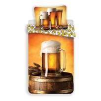 Bavlněné povlečení Pivo, 140 x 200 cm, 70 x 90 cm
