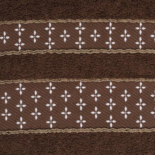 Osuška Vanesa hnedá, 70 x 140 cm