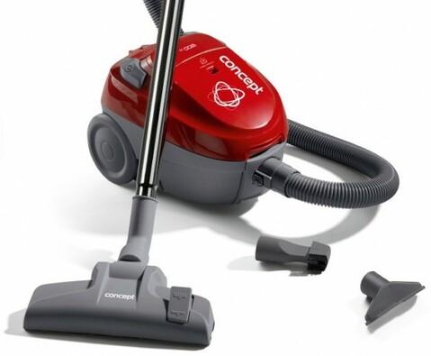 Concept VP 8030 Podlahový vysavač, červená