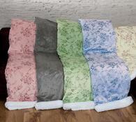 Beránková deka modrá, 140 x 200 cm