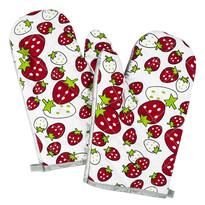 Mănușă bucătărie Căpșuni, 28 x 18 cm, set 2 buc.