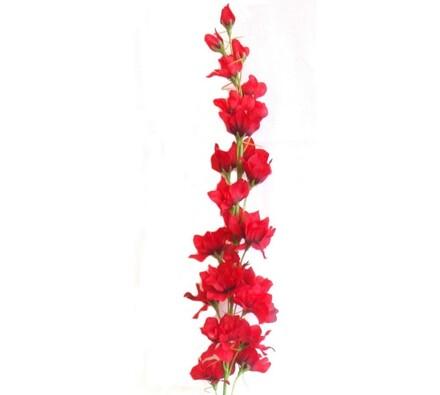 Umělá květina Stračka červená