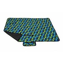 Koc piknikowy Trendy niebieski, 150 x 135 cm