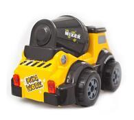 Stavební auto - Míchačka, Buddy Toys, černá + žlutá