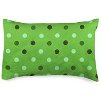 4home zöld pöttyös kispárnahuzat