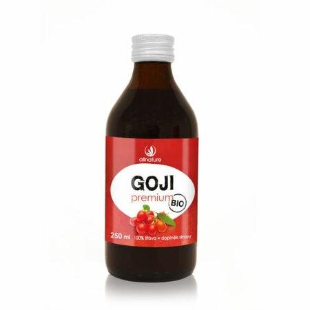 Allnature Goji - Kustovnica čínska Premium BIO 250 ml