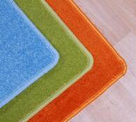 Obdelníkový koberec Eton, oranžová, 57 x 120 cm