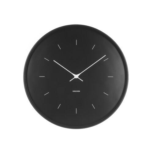 Karlsson KA5707BK Dizajnové nástenné hodiny, 37 cm