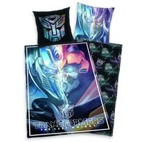 Lenjerie de pat din bumbac pentru copiii Transformers Ultimul cavaler, 140 x 200 cm, 70 x 90 cm