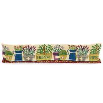 Ozdobný těsnící polštář do oken Garden, 90 x 20 cm