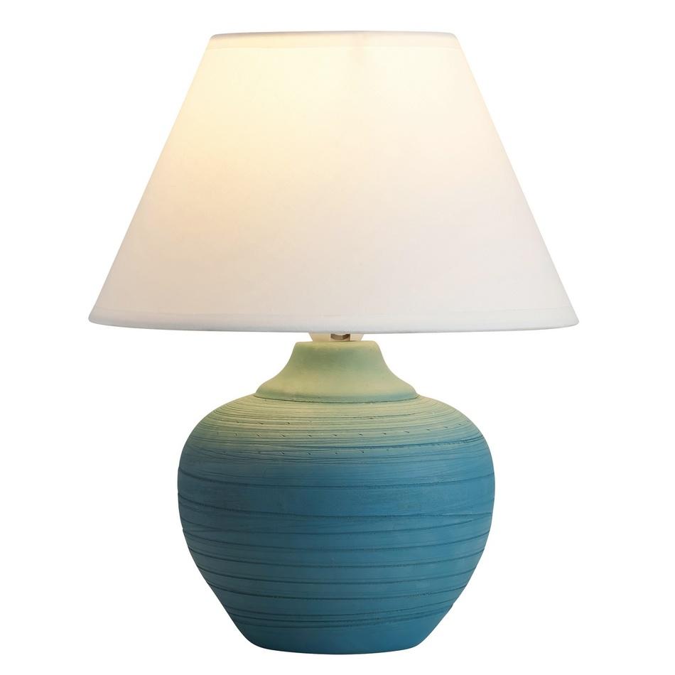 Fotografie Rabalux 4392 Molly stolní lampa, modrá