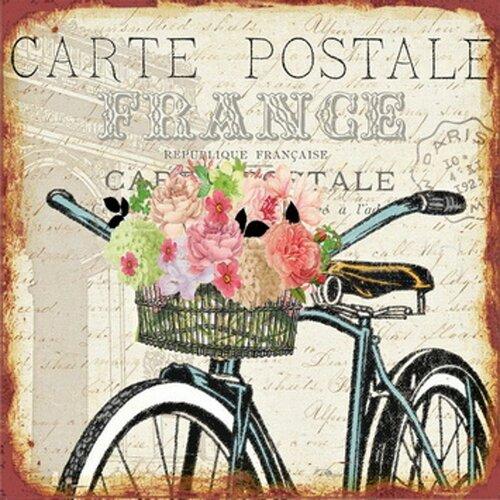 Obraz Carte postale France HA672676