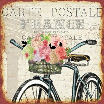 Obraz Carte postale France