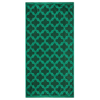 Ręcznik kąpielowy Castle zielony, 70 x 140 cm