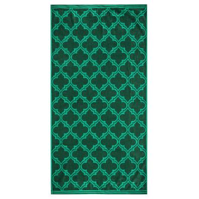 Castle törölköző, zöld, 70 x 140 cm