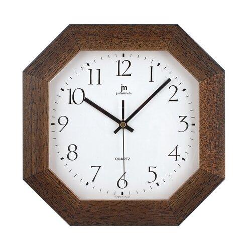Lowell 02822N Designové nástěnné hodiny 27 x 27 cm