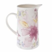 Carafă Flower din porțelan, 1,1 lroz,