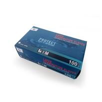 Tescoma Egyhasználatos púderezett latex keszty M, 100 db