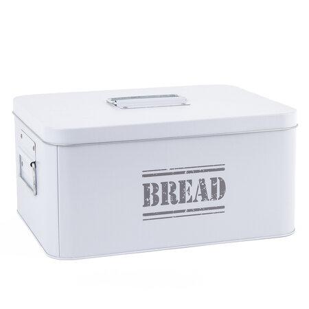 Plechová dóza Bread, sivá