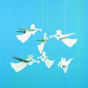 Kinet Angel Mobile 30 cm, bílý