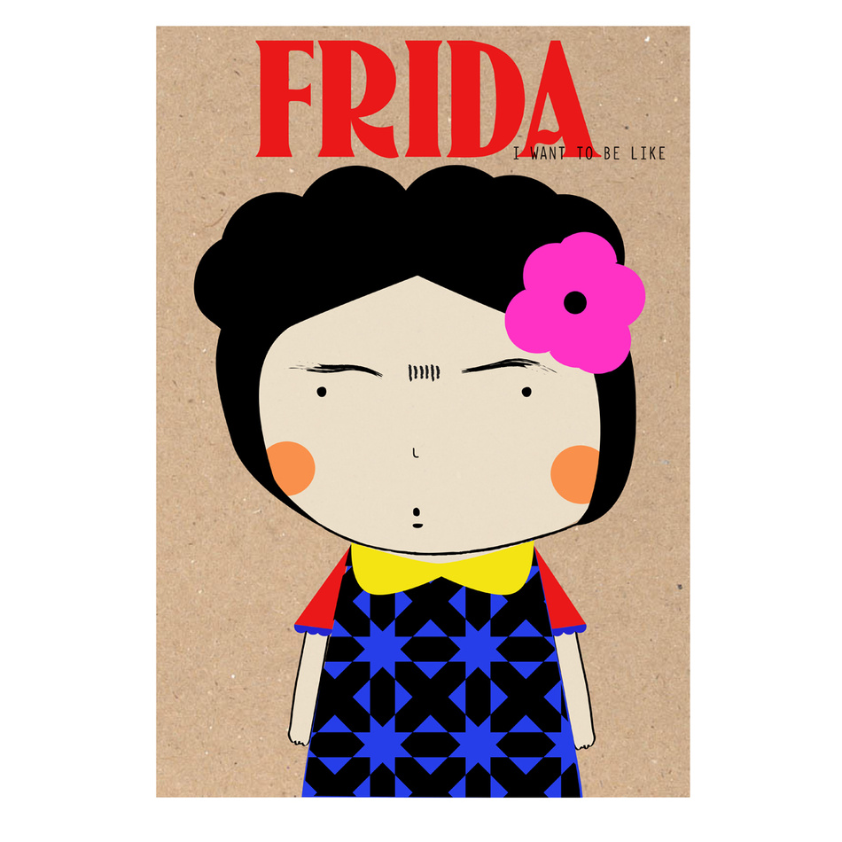 POSTER44 Plagát Frida 42 x 59 cm