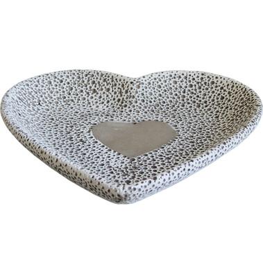 Miska srdce 18,5 cm