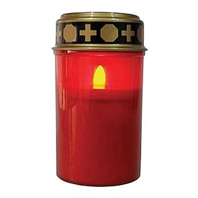 LED hřbitovní svíčka