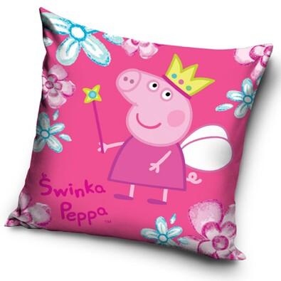 Polštářek Peppa Pig - Pepina Víla, 40 x 40 cm