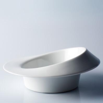 Hluboký talíř Tralalák 18,5 cm, bílý