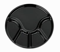 Kela ANNELI fondü tányér, 23 cm, fekete