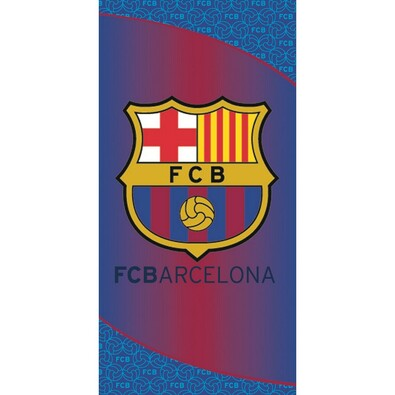 Osuška FC Barcelona 1899, 75 x 150 cm, modrá