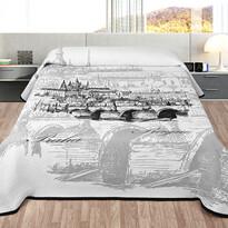 Prehoz na posteľ Praha, 140 x 220 cm