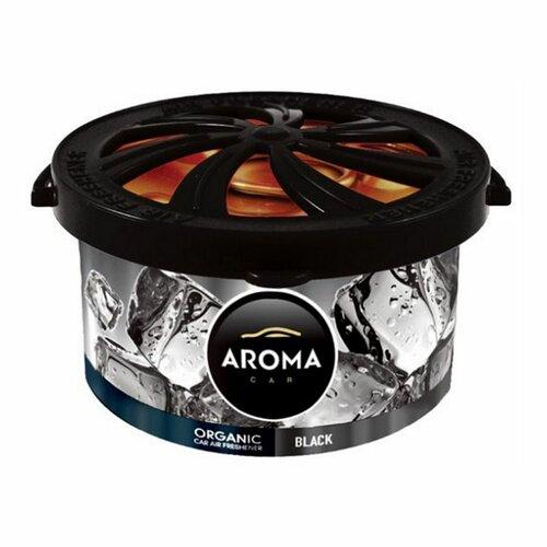 Osvěžovač Aroma Car Organic black, 40 g