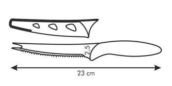 Tescoma Ocelový nůž na zeleninu 12 cm