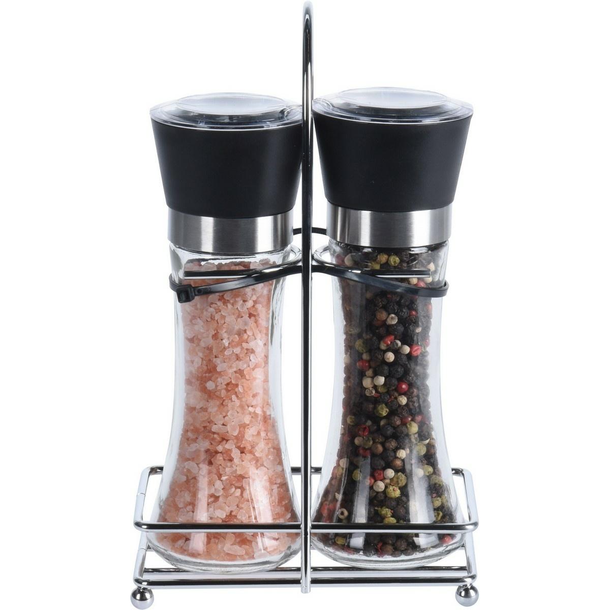 Koopman Sada mlýnku na sůl a koření ve stojánku