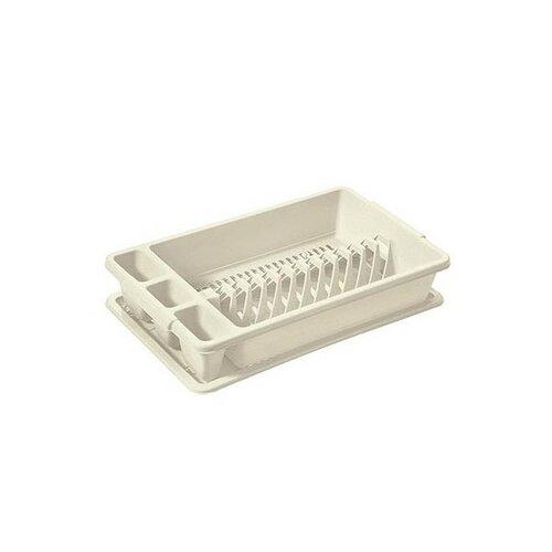 Tontarelli Odkapávač na nádobí 45 x 26,5 x 9 cm, bílá