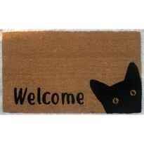 Wycieraczka kokosowa Cat Welcome, 40 x 70 cm