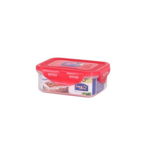 Lock & Lock Plastová dóza na potraviny 350 ml, růžová