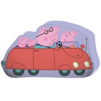 Jerry Fabrics Tvarovaný vankúšik Peppa Pig, 25 x 30 cm